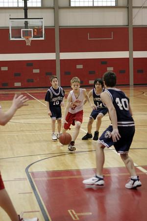 Middle School Boys Basketball 8B - 2006-2007 - 1/11/2007 Fruitport
