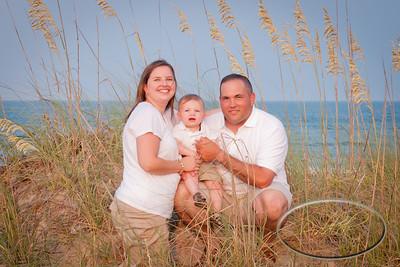 The family at Carova Beach 2011