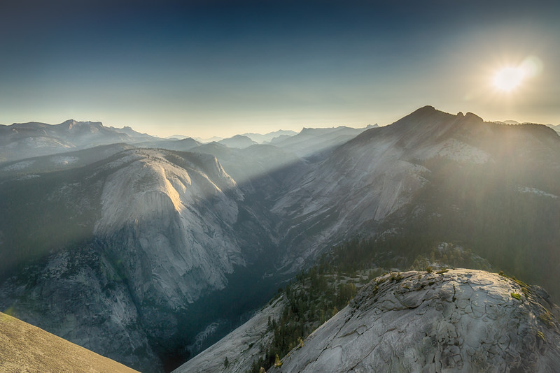 Sunrise at Half Dome