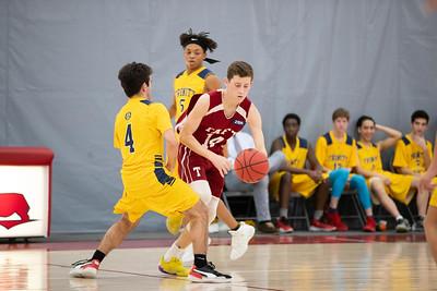 1/25/20: Boys' Thirds Basketball v Trinity-Pawling