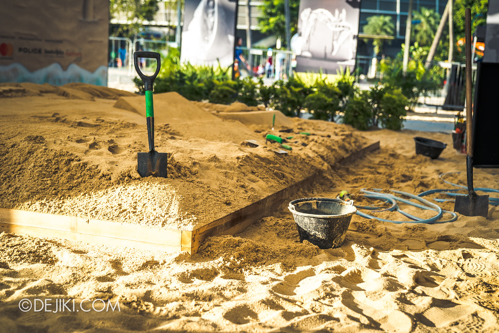 Sentosa Sandsation 2017 - Interactive Sand exhibit