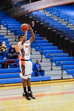 Boys Varsity Basketball v Yorktown 2/23/15
