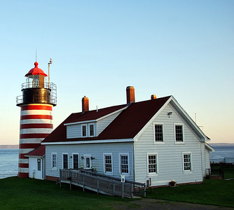 Lubec and West Quoddy Lighthouse