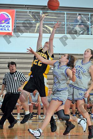 Girls Freshmen Basketball - Corunna at Lansing Catholic - Jan 28