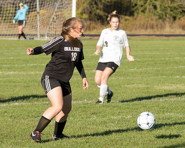 Girls Soccer Southern Region:  Game 1, Hall-Dale vs Maranacook