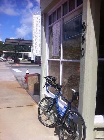 Ride to Juniper Cafe in Ridge Spring