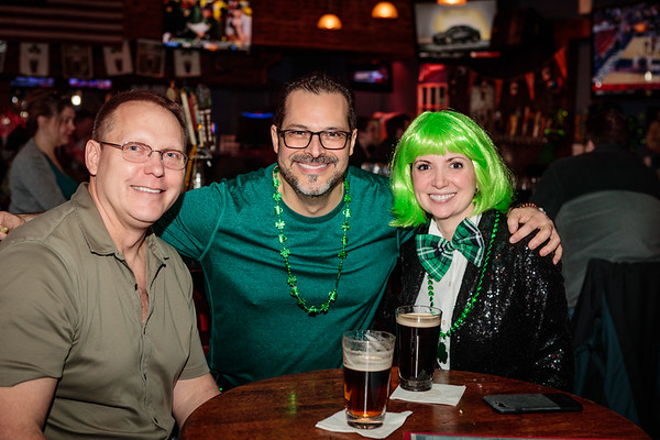 All In at the Bungalow March 2019 St Patricks Day