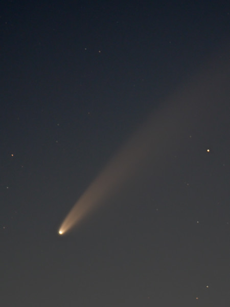 Comet Neowise 10th July