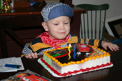 Nathan's Third Birthday