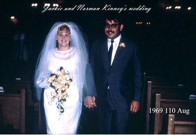 Norman and Jackie Wedding, Aug 69