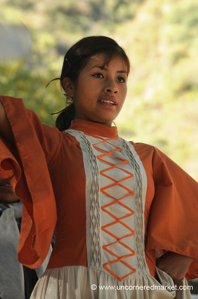 Proud Argentine Folk Dancer