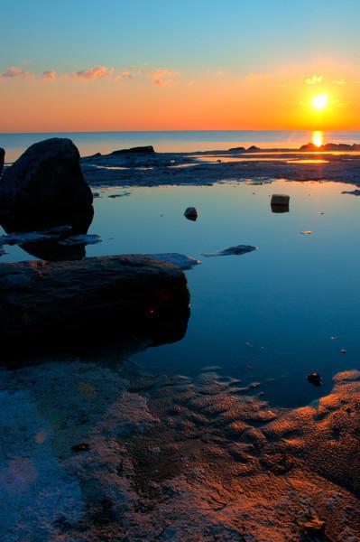 4th Nov 2011 : Sunrise over lake Michigan (again).