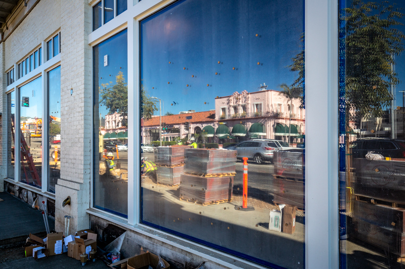 September 14 - Reflections from a new Village window.jpg
