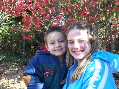 Camber and Julirae Thanksgiving 2005