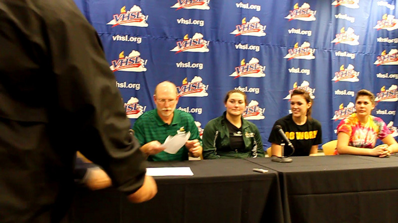Volleyball VHSL State AAA Title Press.mov