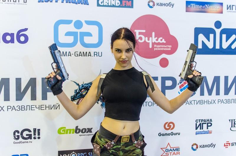 Lara Croft at Igromir 2012