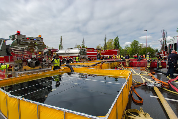 "Middlesex County Full Scale Water Supply Drill – ""Putting Big Water on Big Fire"""