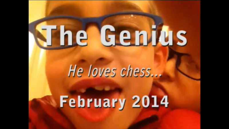 The genius...