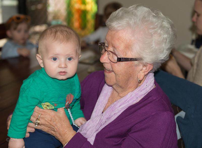 Michael and Gran