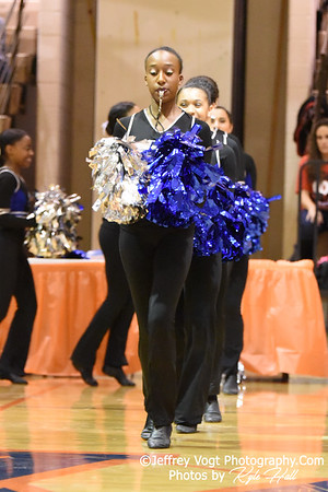 1-05-2019 James H. Blake High School at Watkins Mill High School 2nd Annual Poms Invitational at Watkins Mill High School, Photos by Jeffrey Vogt Photography with Kyle Hall,