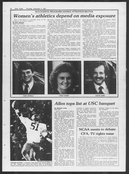 Daily Trojan, Vol. 91, No. 62, December 03, 1981