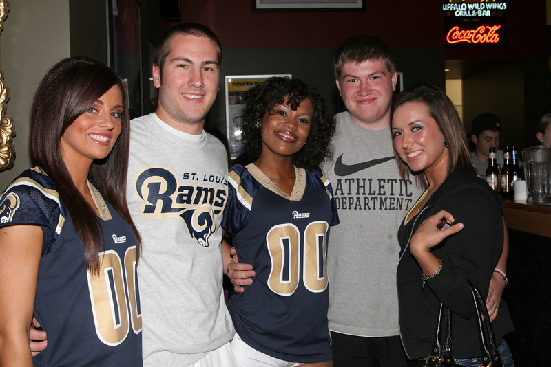 NFL 75th Rams Draft Party