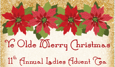 11th Annual Ladies' Advent Tea