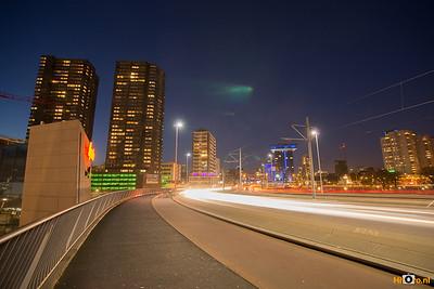 Erasmusbrug Rotterdam 18-11-2012