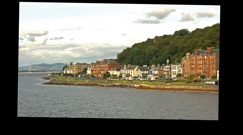 Leaving Rothesay, Bute