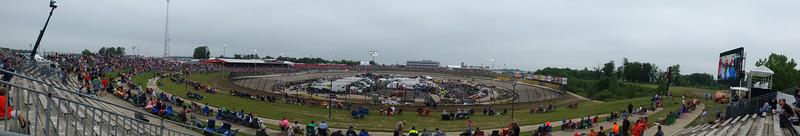 NASCAR Mudsummer Classic - Eldora Speedway - 23 July '14