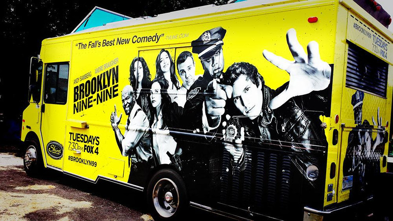 Brooklyn Nine-Nine, Roaming Hunger, Ruthie's food truck transformed, Dallas, TX