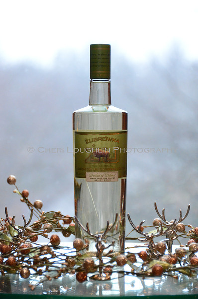 Zubrowka Bison Grass Vodka - Cheri Loughlin Wine & Spirits Stock Photography