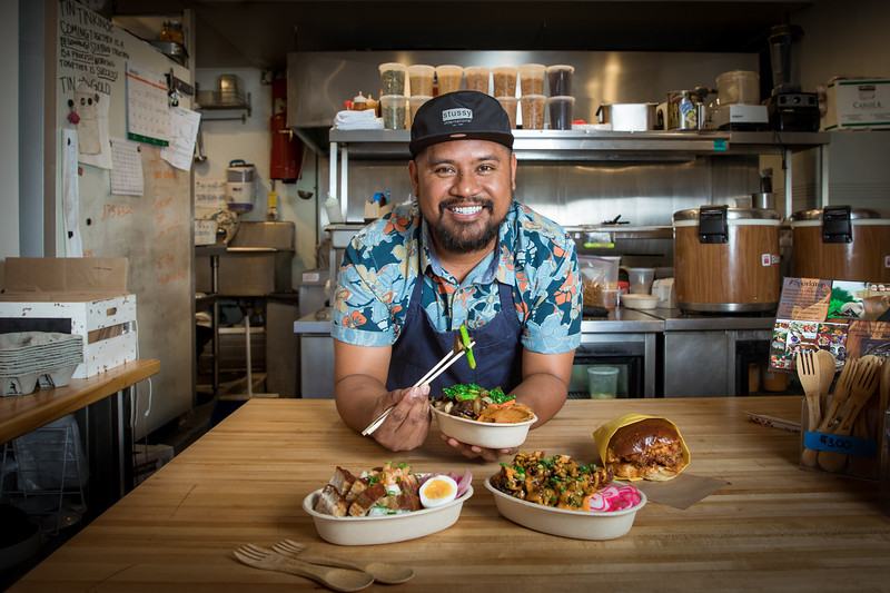HAWAII MAGAZINE:  Chef Sheldon Simeon (Portrait / Commercial)