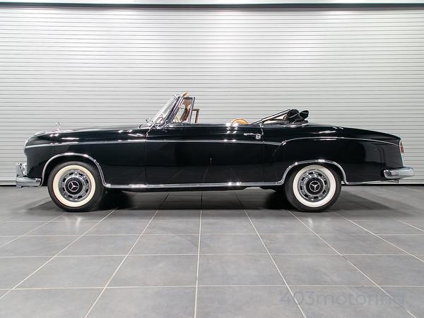 '59 220SE Cabriolet - Black