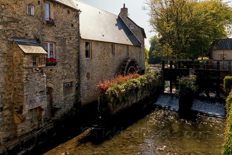 An Old Hospital Mill in Bayeux