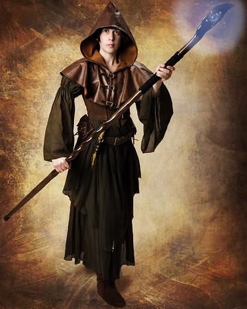 Jeanette - Wood Elf Sorceress