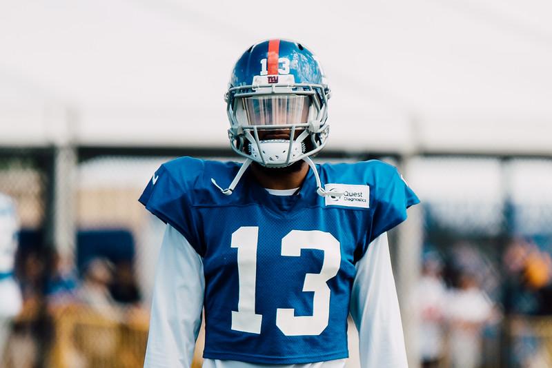 NY Giants Training Camp