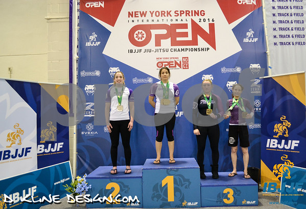 Podium Pics DAY TWO  NY Spring Open April 9th 2016