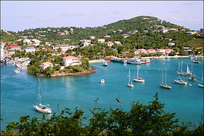Cruz Bay, St. John 2001