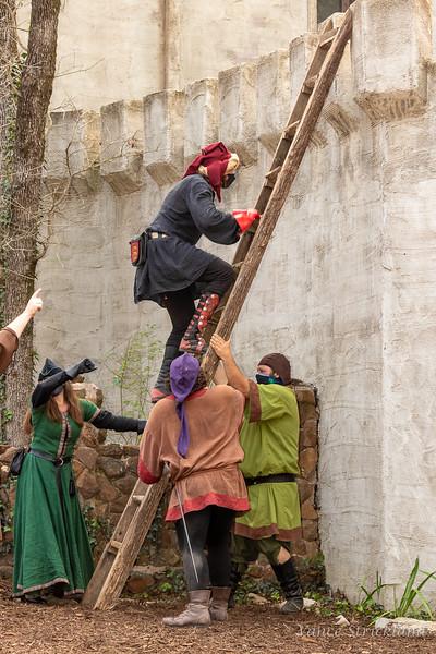 Sherwood Forest 2021-rehearsals-CastleScene