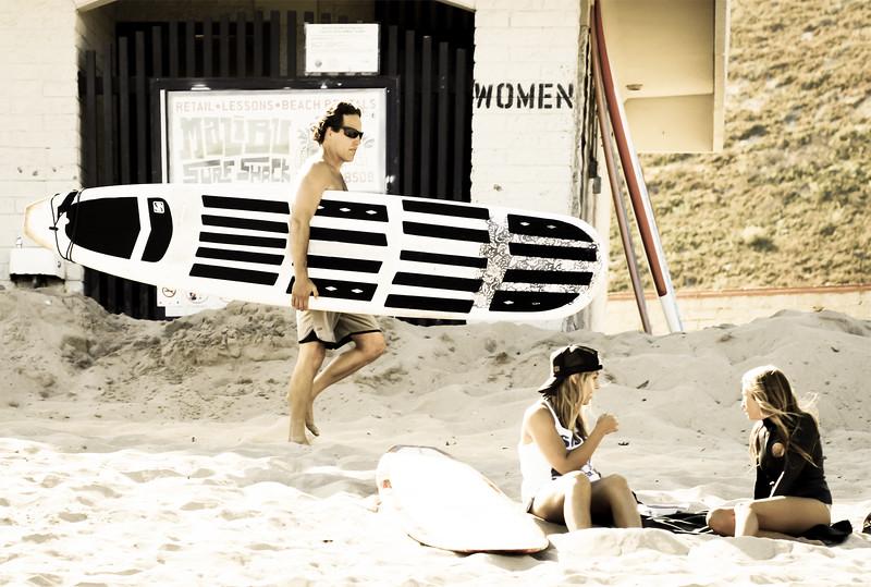 Malibu Surfer
