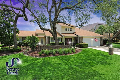 1824 Lindberg Lane | Hangar Home in Spruce Creek Fly-In, Florida