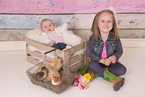 Matea & Remington Easter Mini 2017