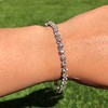 9.50ctw Round Brilliant Diamond Tennis Bracelet 6
