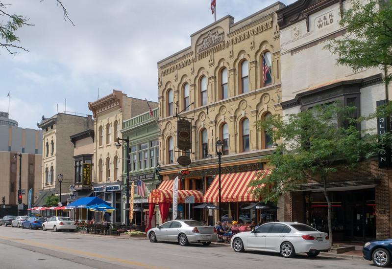 Historic Buildings, Old World 3rd Street, Milwaukee, Wisconsin