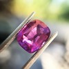 4.00ct Pink Cushion Shape Sapphire, with GIA 58