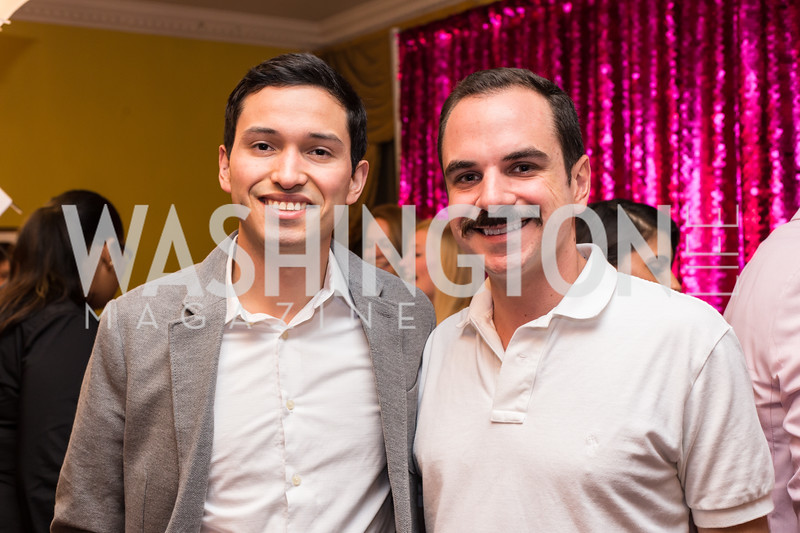 Brian Curiel, Peter Visceglia Young Patrons National Theatre Fundraiser November 30, 2017 Photo by Naku Mayo