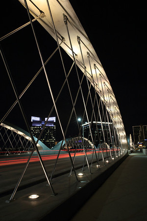 Fort Worth - 7th Street Bridge - 1/30/14
