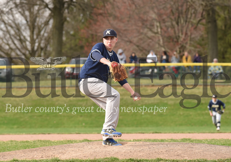 Knoch pitcher Travis Mowery