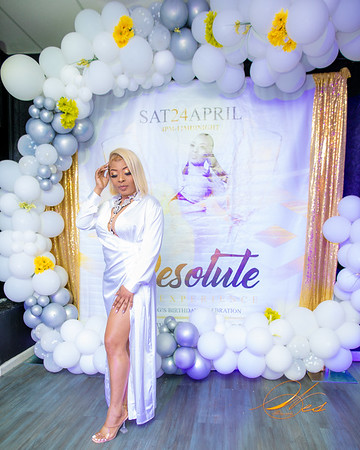 """LADY G """" RESOLUTE THE EXPERIENCE"""" BIRTHDAY PARTY"""